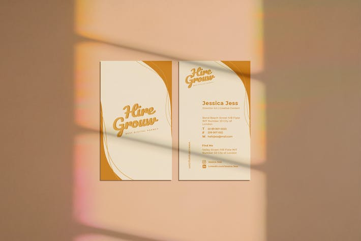Thumbnail for Hire Grouw Business Card