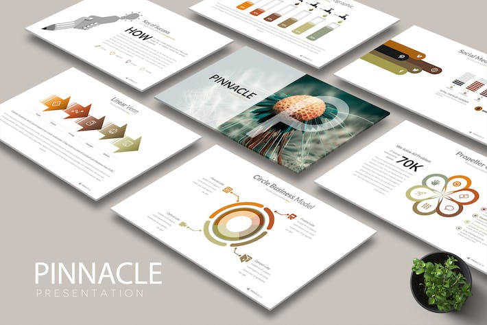 Cover Image For PINNACLE Google Slides