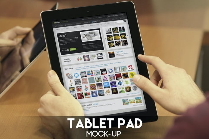 Thumbnail for Tablet Pad Mock-Up