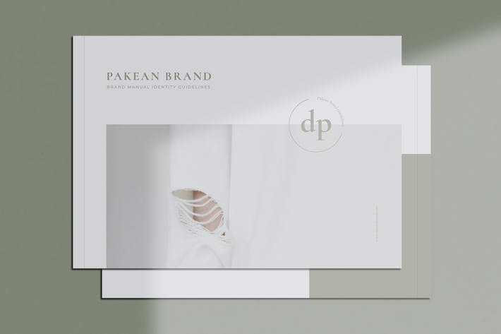 Thumbnail for PAKEAN / Minimal Brand Guidelines