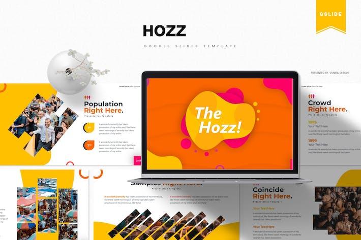 Thumbnail for The Hozz | Google Slides Template