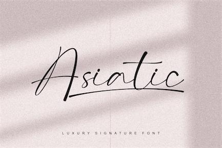 Asiatic Signature Script