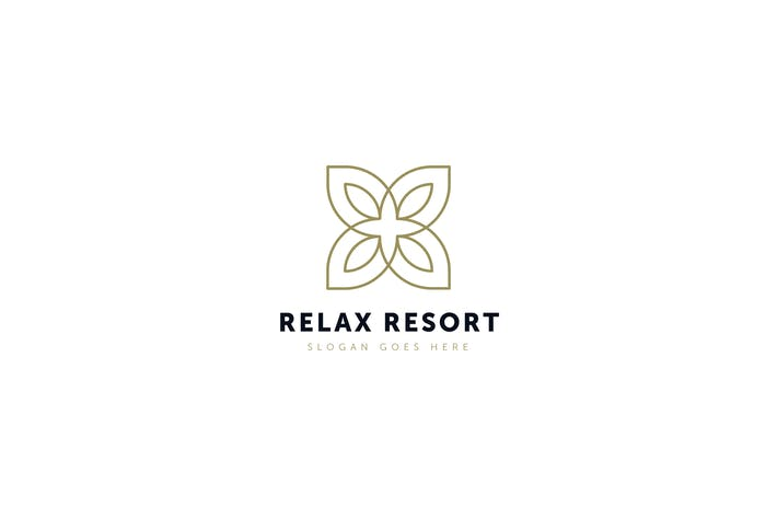 Thumbnail for Relax Resort Logo Template