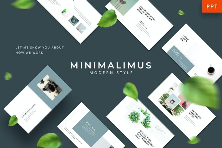 Thumbnail for Minimalimus - Clean Powerpoint Template