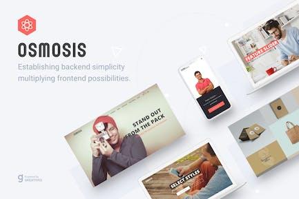 Osmosis - Responsive Multipurpose WordPress Theme