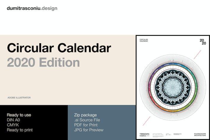 Thumbnail for Circular Calendar / 2020 Edition