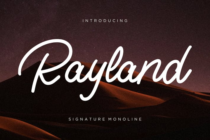 Thumbnail for Rayland Signature Monoline