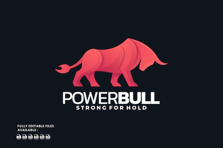 Bull Gradient Logo