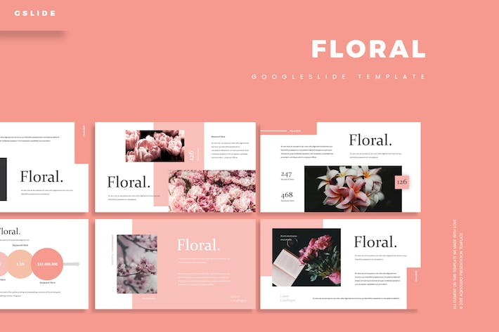 Thumbnail for Floral - Google Slides Template