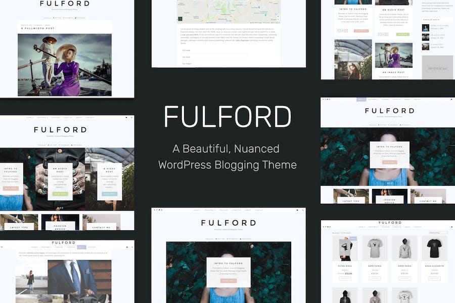 Fulford - Responsive WordPress Blogging Theme