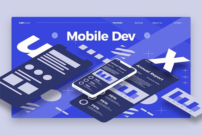 Thumbnail for Mobile Dev 2 - Banner & Landing Page