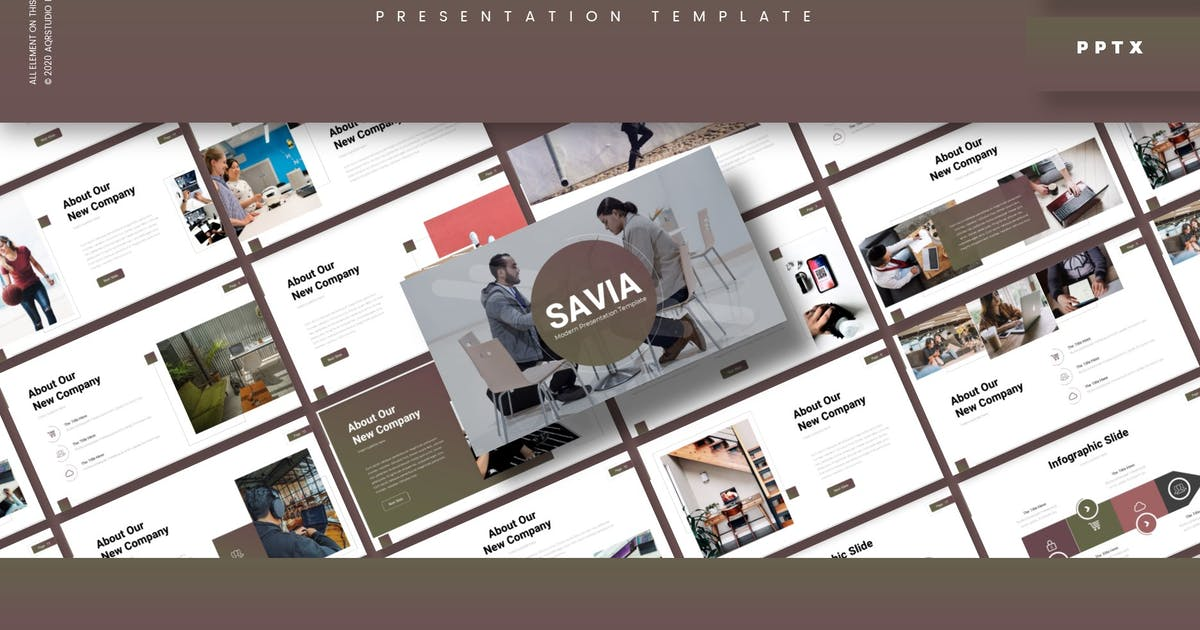 Download Savia - Presentation Template by aqrstudio