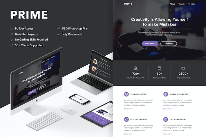 Thumbnail for Prime - Responsive Email + Themebuilder Access