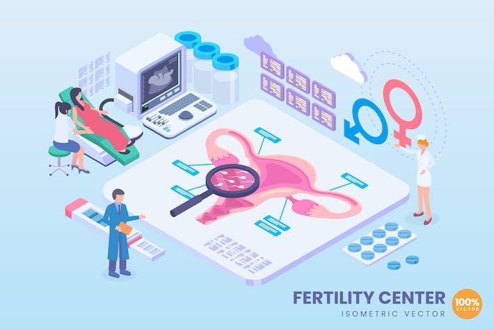 Thumbnail for Isometric Fertility Center Concept