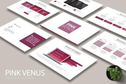 Diapositivas de Google VENUS ROSA