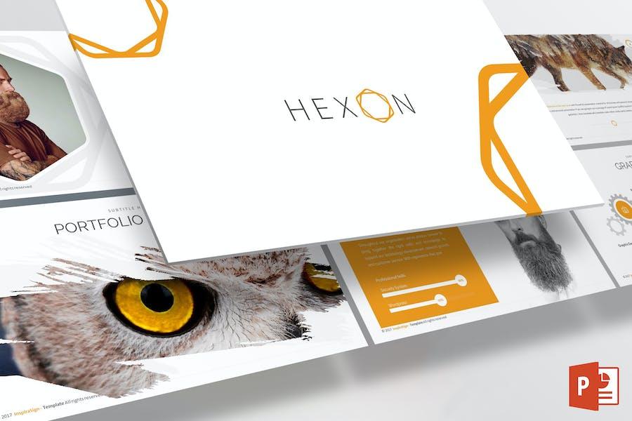 Hexon Powerpoint Template