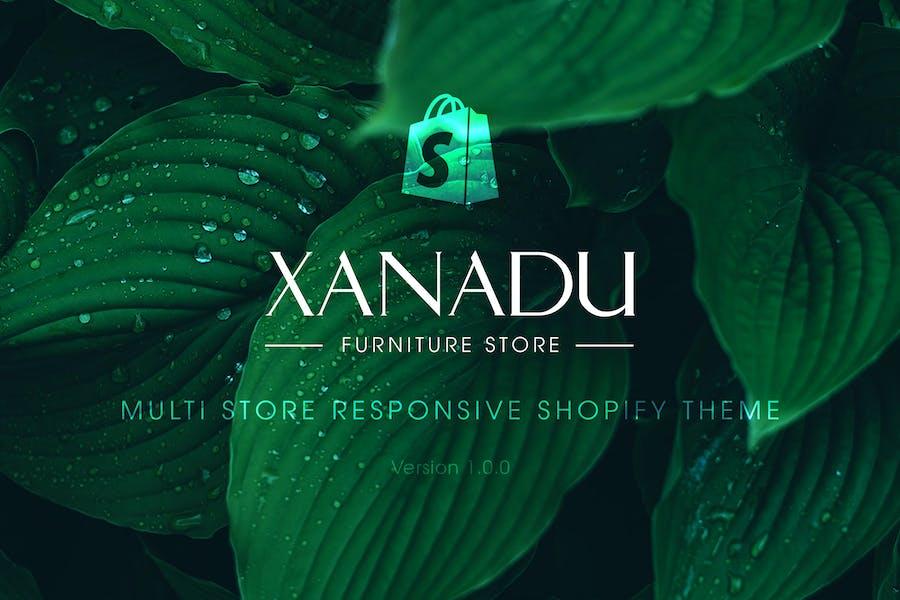 Xanadu | Multi Store Responsive Shopify Theme