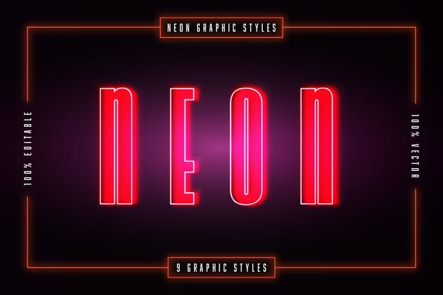 Neon Graphic Styles - product preview 0