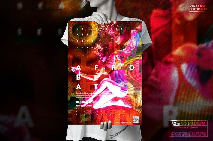 Thumbnail for Événement musical - Grand poster Design