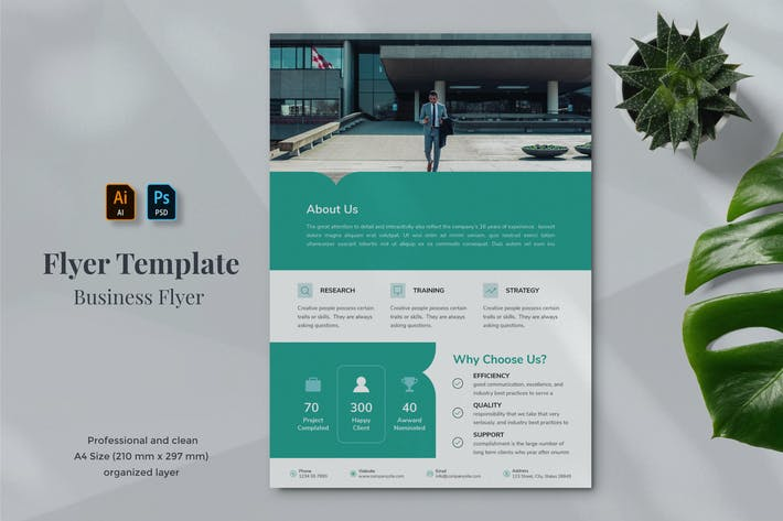 Thumbnail for Business Flyer Template 15