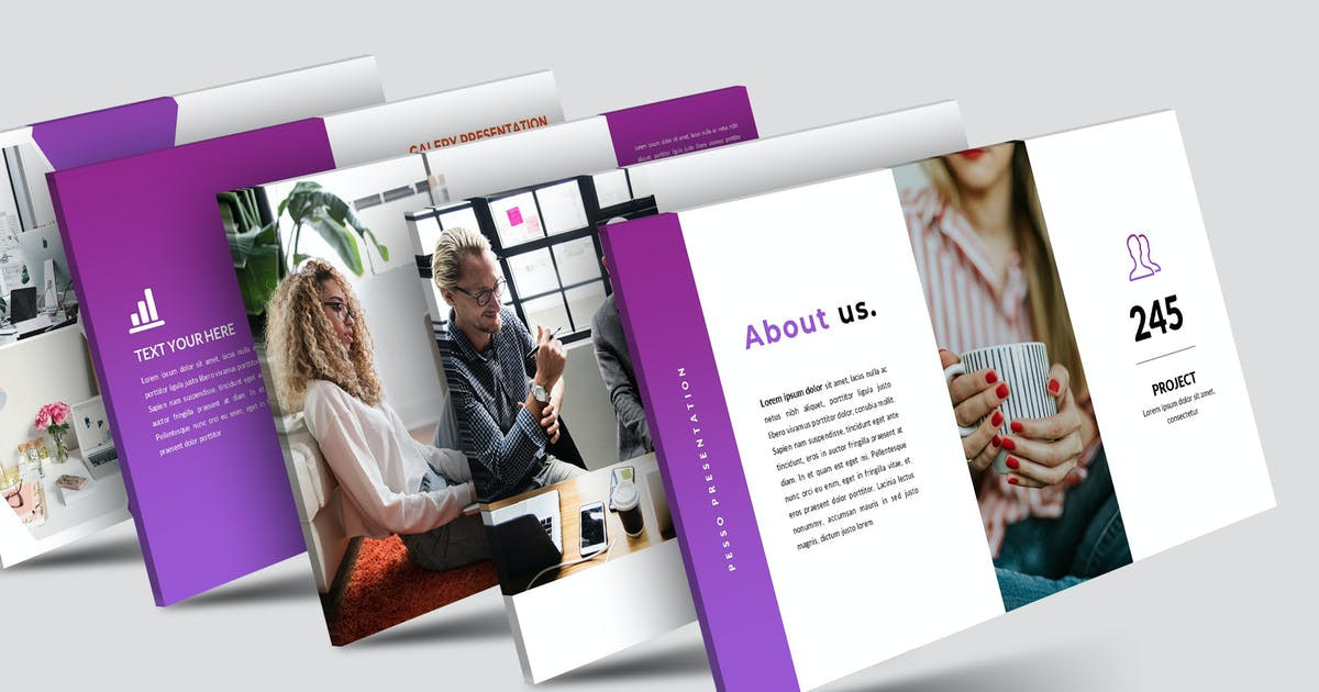 Download Pesso - Keynote Template by aqrstudio