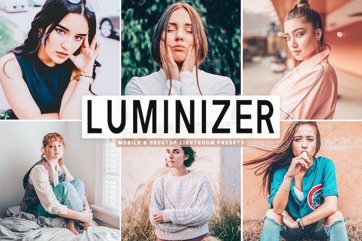 Thumbnail for Luminizer Mobile & Desktop Lightroom Presets