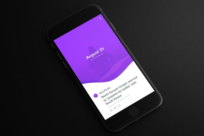 Thumbnail for Yahoo Digest Style App - News
