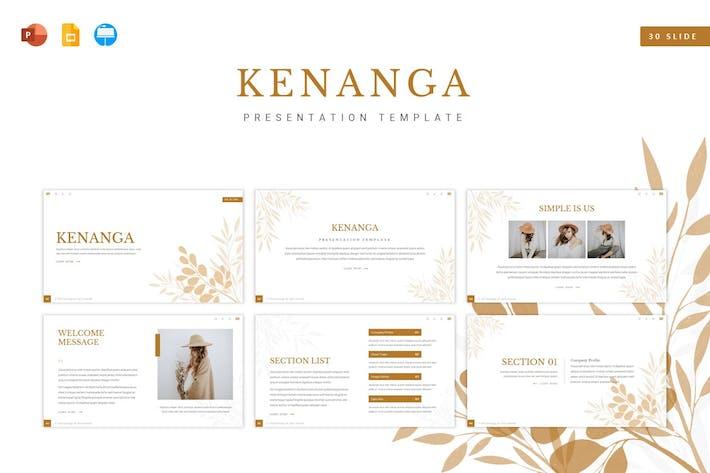 Kenanga Presentation Template