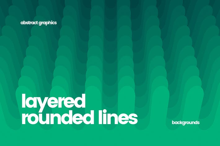 Thumbnail for Layered Rounded Lines Backgrounds