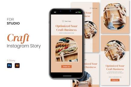 Craft Instagram Story Pack