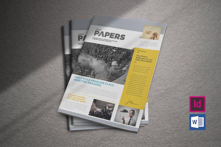 Thumbnail for Newsletter Template