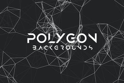 Polygon Mesh Background Set