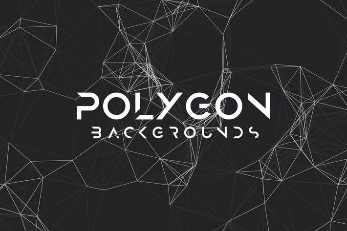 Thumbnail for Polygon Mesh Background Set