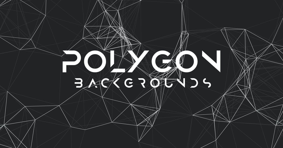 Download Polygon Mesh Background Set by themefire