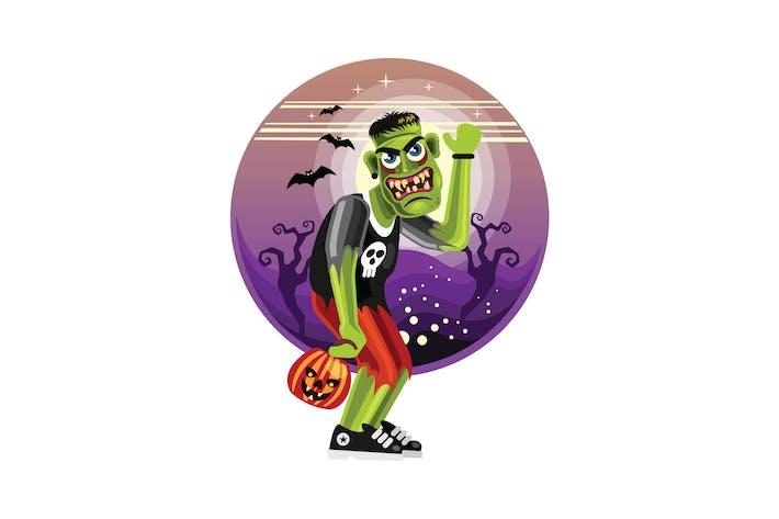 Thumbnail for Frankenstein Halloween Character