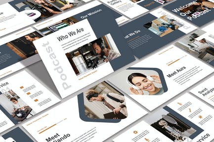 PODCAST - Powerpoint Template