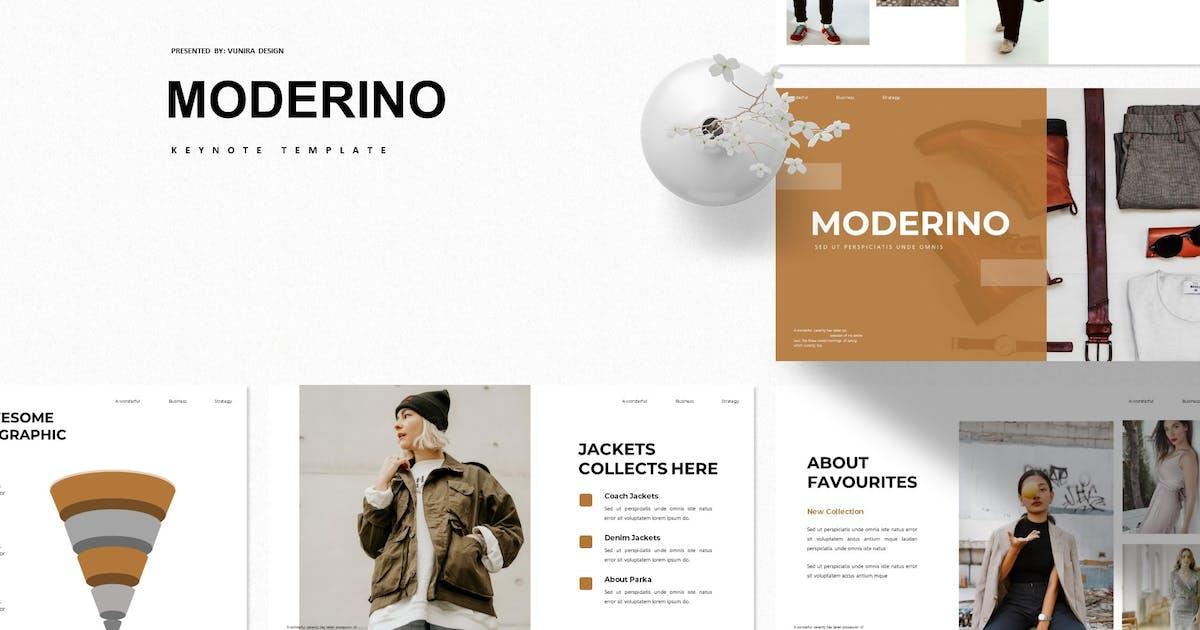 Download Moderino   Keynote Template by Vunira