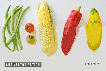 Art Vector Action