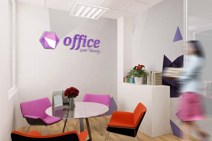 Mockup Branding For Small Offices by Wutip on Envato Elements