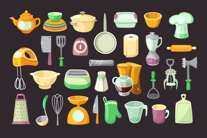 Thumbnail for Kitchen Utensils