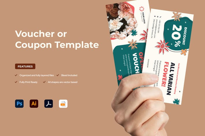 Cover Image For Gift Voucher Coupon