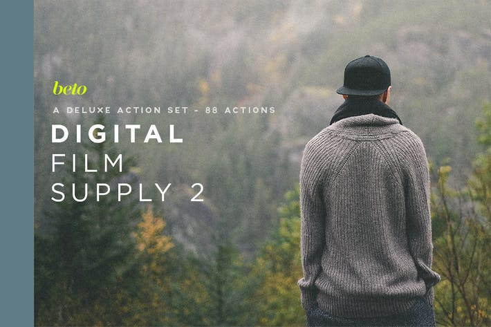Thumbnail for Digital Film Supply 2 Action Bundle