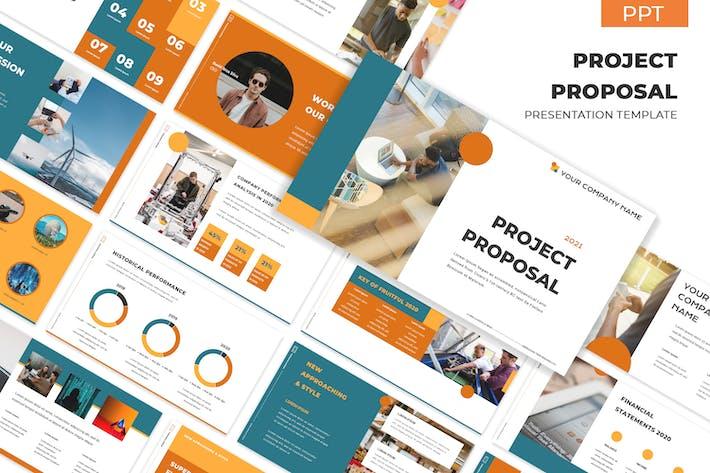 Thumbnail for Проектное предложение 101 - Презентация