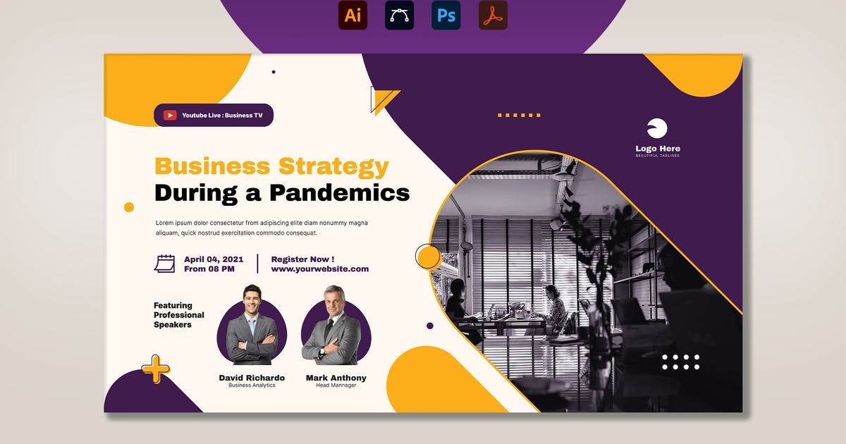 Download Business Strategy Digital Poster by RahardiCreative