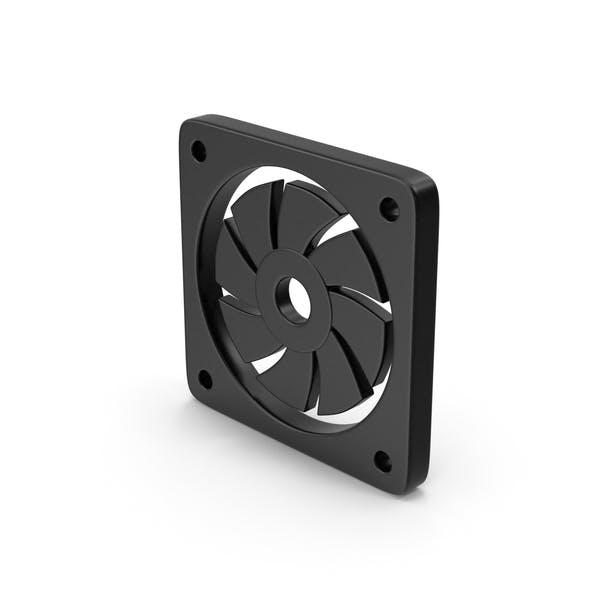 Black Symbol Cooler