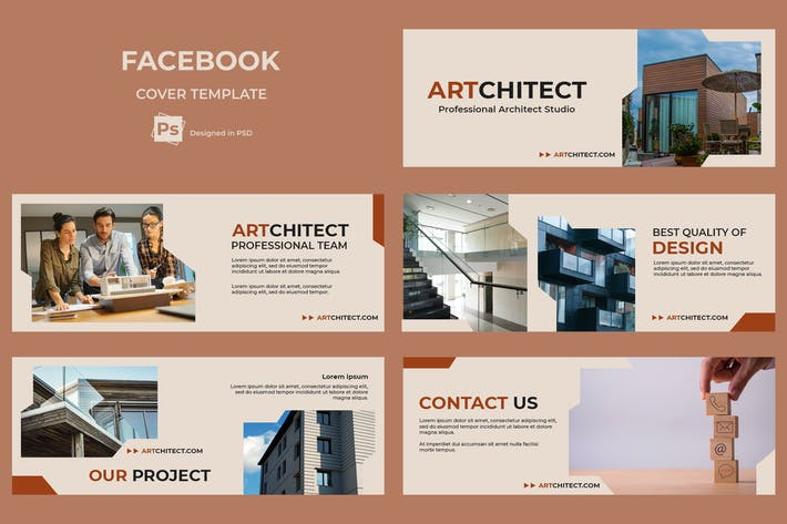 Thumbnail for Facebook Cover Architect
