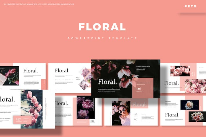 Thumbnail for Floral - Powerpoint Template