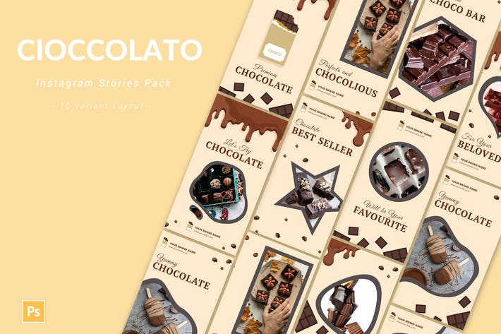 Cioccolato - Instagram Story Pack