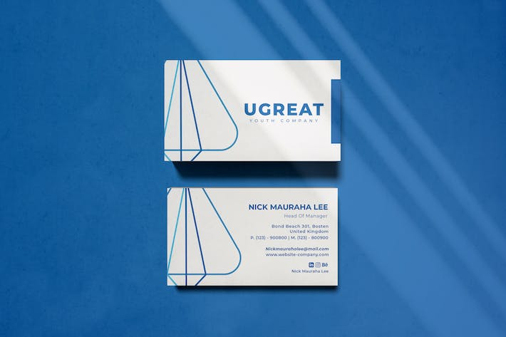 Cover Image For Urgeat Business Card