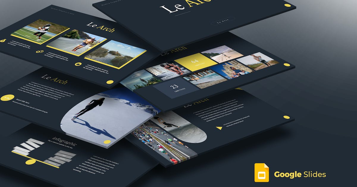 Le Arch - Google Slides Template by aqrstudio
